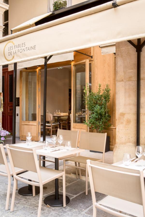 Les Fables de la Fontaine (Paris 7) : la terrasse