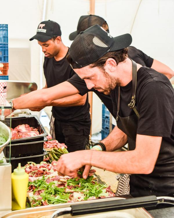 Le formidable Food Market de WECANDANCE © Yonder.fr