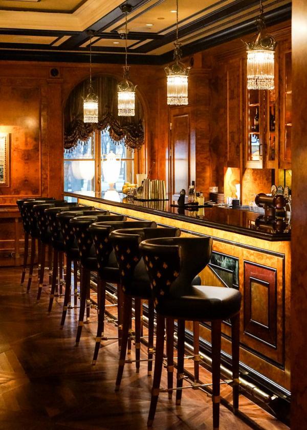 Le comptoir du Xander Bar © YONDER.fr