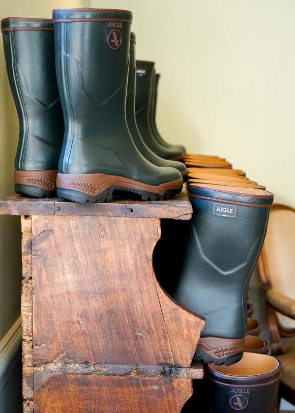 Les Sources de Cheverny – Les bottes pour marcher en forêt © MB   YONDER.fr