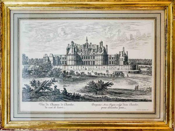 Partout dans l'hôtel, des détails de décoration évoquent le Château de Chambord et son histoire prestigieuse © YONDER.fr