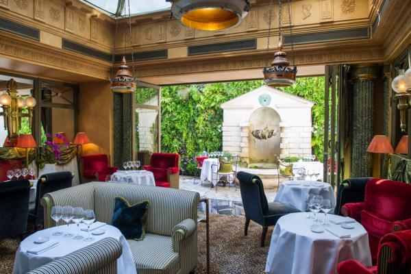 À l'intérieur du Restaurant © L'Hôtel