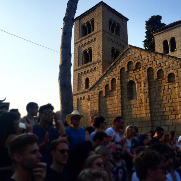 Au Monasterio pendant le live d'Âme | © Yonder.fr