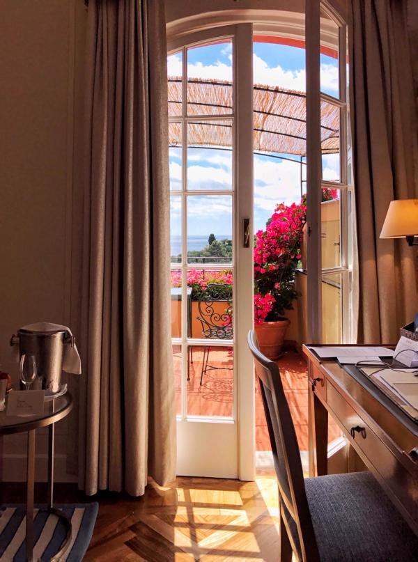 Un certain nombre de chambres disposent de vastes balcons privatifs © YONDER.fr