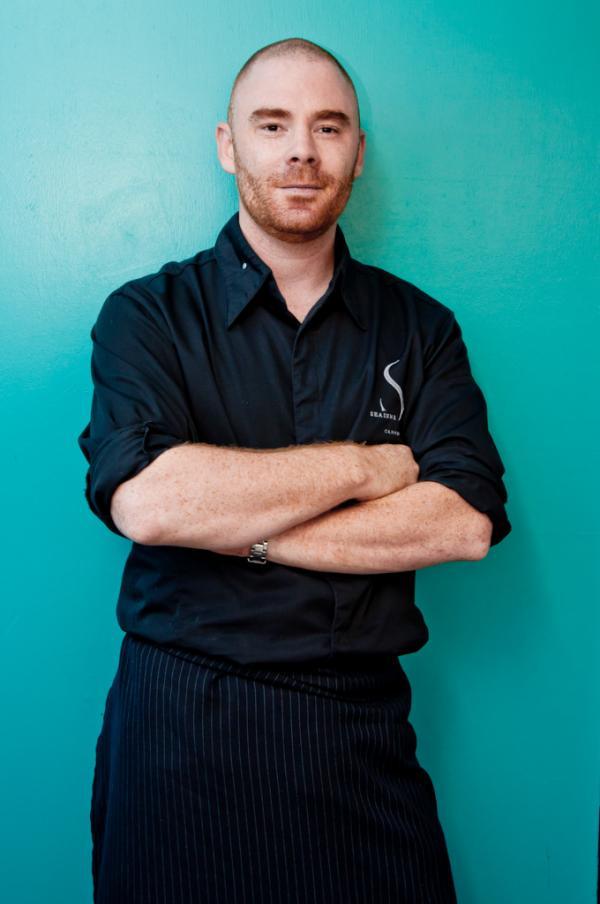 Le jeune chef Arnaud Tabarec, l'une des étoiles montantes de la scène gastronomique cannoise © Yonder.fr