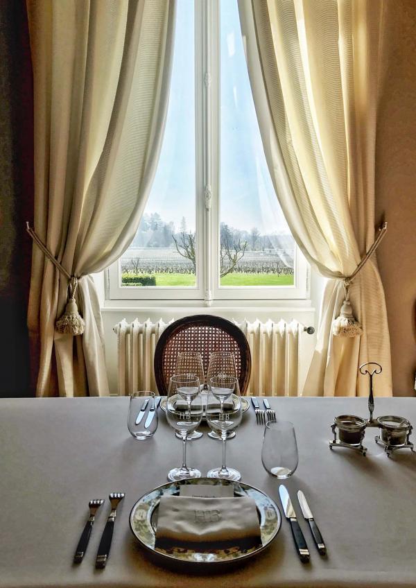 La Table Privée du Château Haut-Bailly : une expérience gastronomique de haut-vol, centrée autour des vins du domaine, pour les épicuriens © YONDER.fr