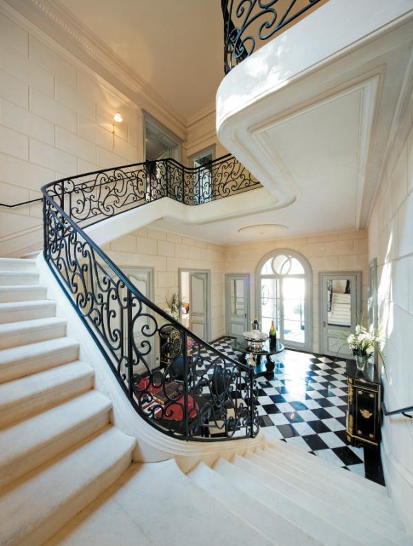 Les intérieurs luxueux de La Grande Maison © Jacques GAVARD