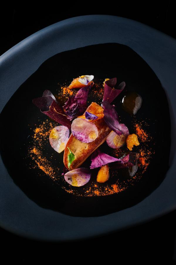 Foie gras, agrumes © Le Cinq