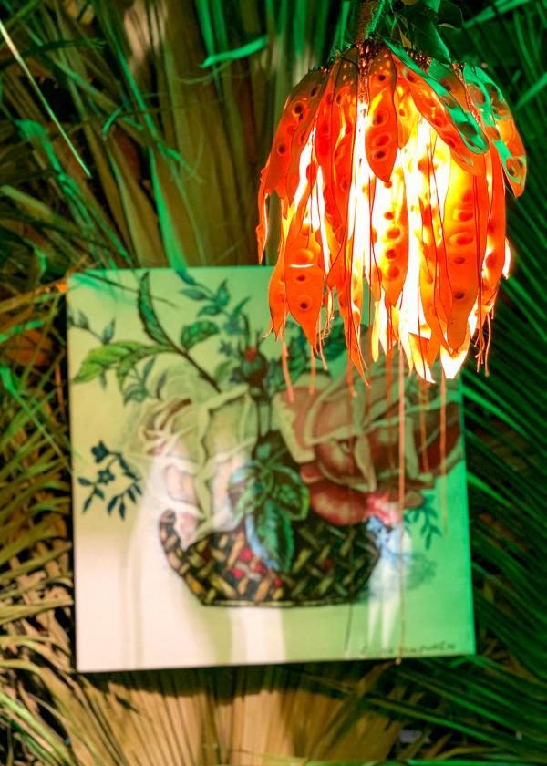 Détail de décoration dans l'un des espaces VIP © YONDER.fr