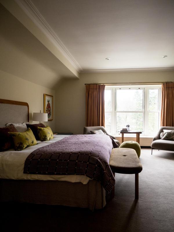 Calme, élégance et détente sont maîtres-mots des chambres de l'hôtel © Alix Laplanche