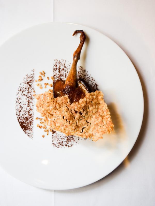 Pigeon de Vendée, cacao, tagliatelle de sarrasin © Yonder.fr