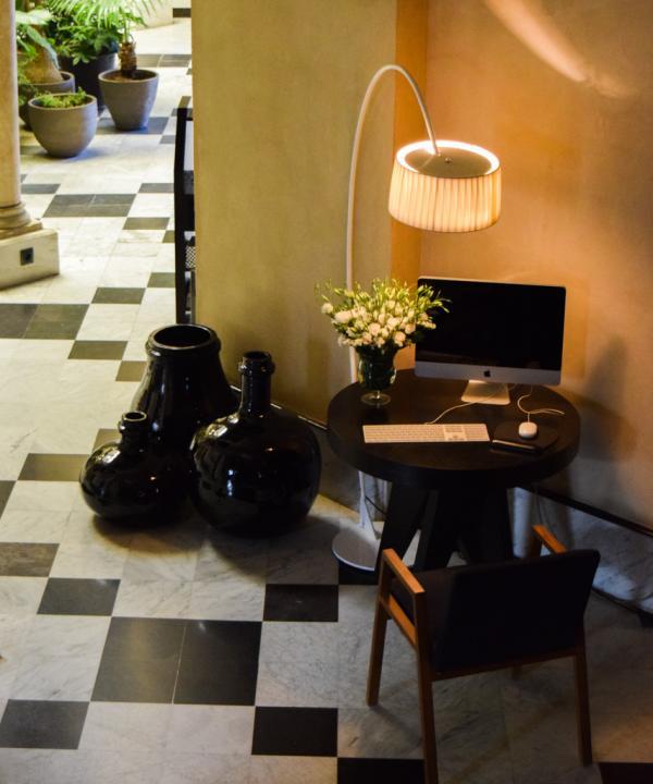 La marque de fabrique du Palacio : mêler harmonieusement ancien et moderne © Yonder.fr