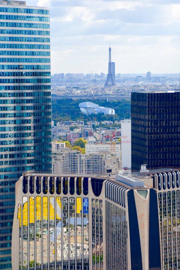 Vue sur Paris depuis le rooftop du restaurant La City © Emmanuel Laveran