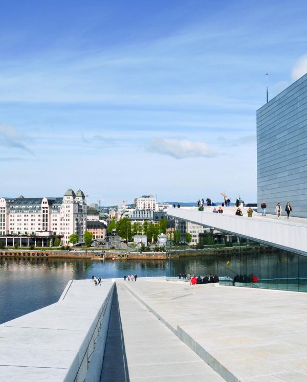 L'Opéra d'Oslo est la nouvelle icône de la ville © Pierre Gunther