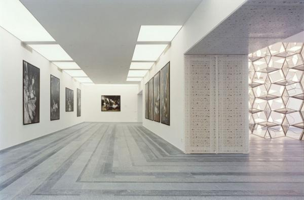 Une galerie du PinchukArtCentre © Benoît Fougeirol