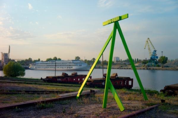 "La ""Plateforme d'initiatives culturelles"" Izolyatsia, relocalisée à Kiev depuis 2014 © Izolyatsia"