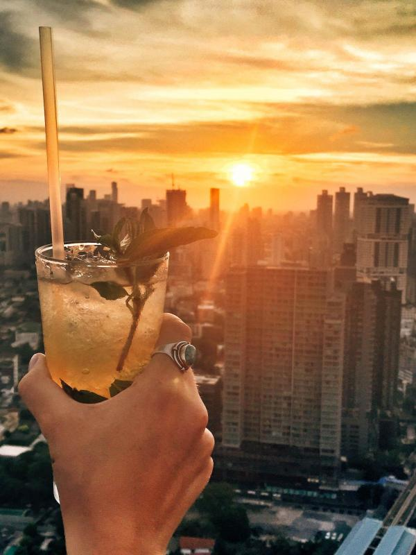 Octave Rooftop Lounge & Bar du Bangkok Marriott Hotel Sukhumvit © Constance Lugger / YONDER.fr