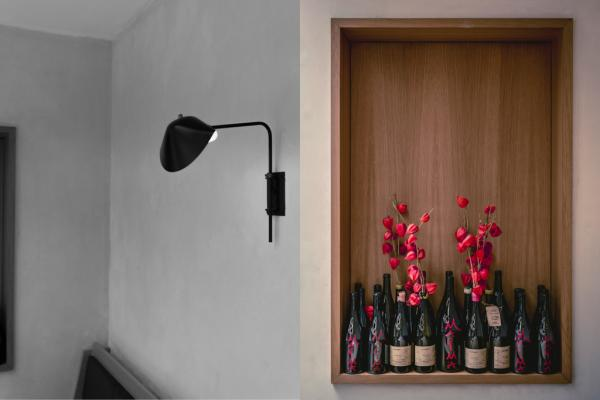 Design contemporain et minimaliste dans le restaurant de la rue Notre-Dames-des-Victoires © Jérôme Galland