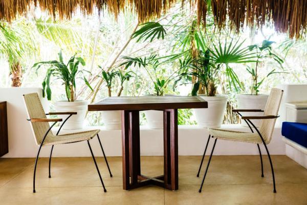 Chaque chambre et suite dispose d'une vaste terrasse privative © Esencia