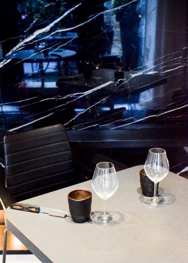 Intérieurs de la salle à manger du nouveau Restaurant Akrame © YONDER.fr