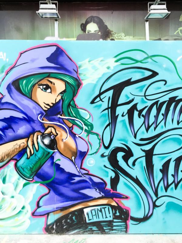Street art près du M50 © Yonder.fr