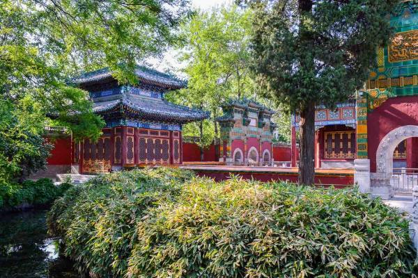 Le Parc Behai comprend lui aussi de nombreux temples. © Pierre Gunther