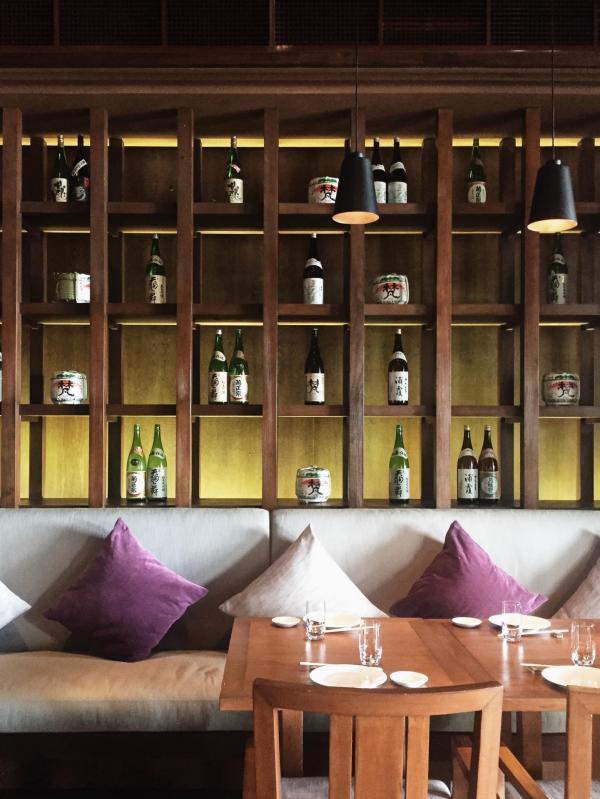 La décoration du restaurant principal, repris par Zuma pendant la haute saison © Constance Lugger