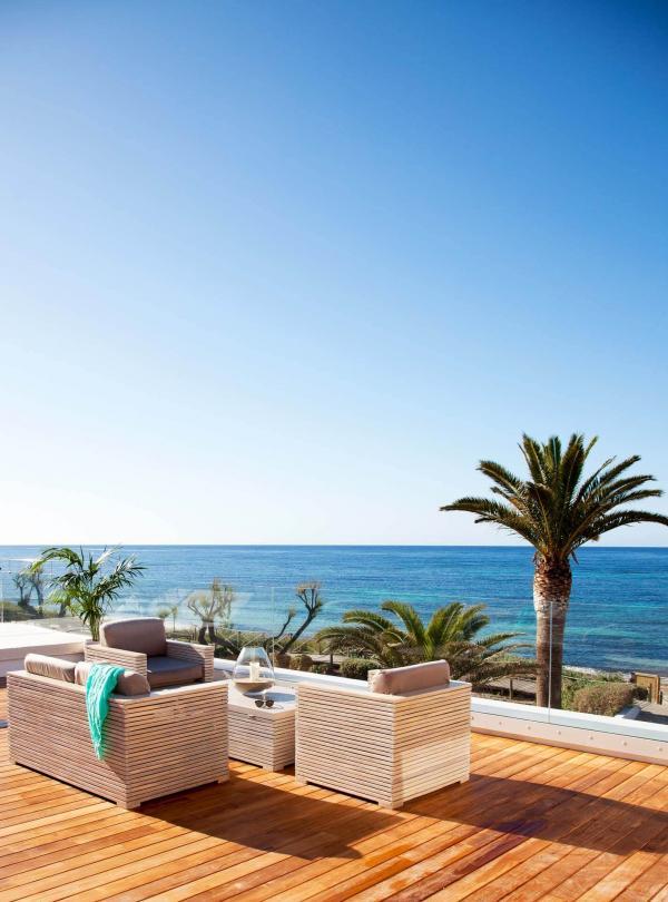 Gecko Hotel & Beach Club - La terrasse privée du Gecko Loft © DR