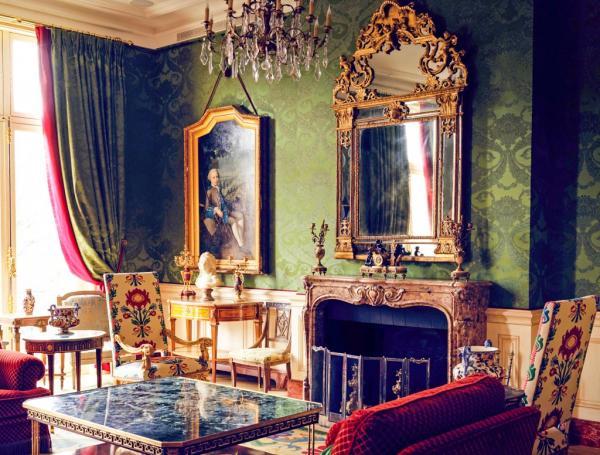 Le Grand Salon du Clarence, au deuxième étage de l'hôtel particulier © Le Clarence