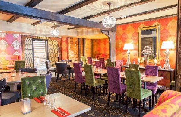 Salle à manger au Det Hanseatiske Hotel © DR