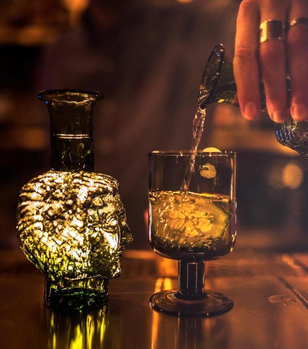 Le Shell, bar à cocktail à découvrir avant ou après le dîner © Annie Rudolf