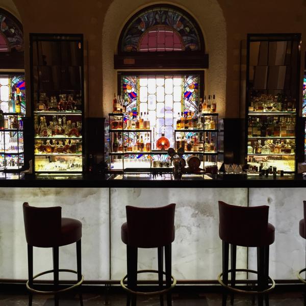 Le Lobby Bar du Grand Hotel Europe © YONDER.fr