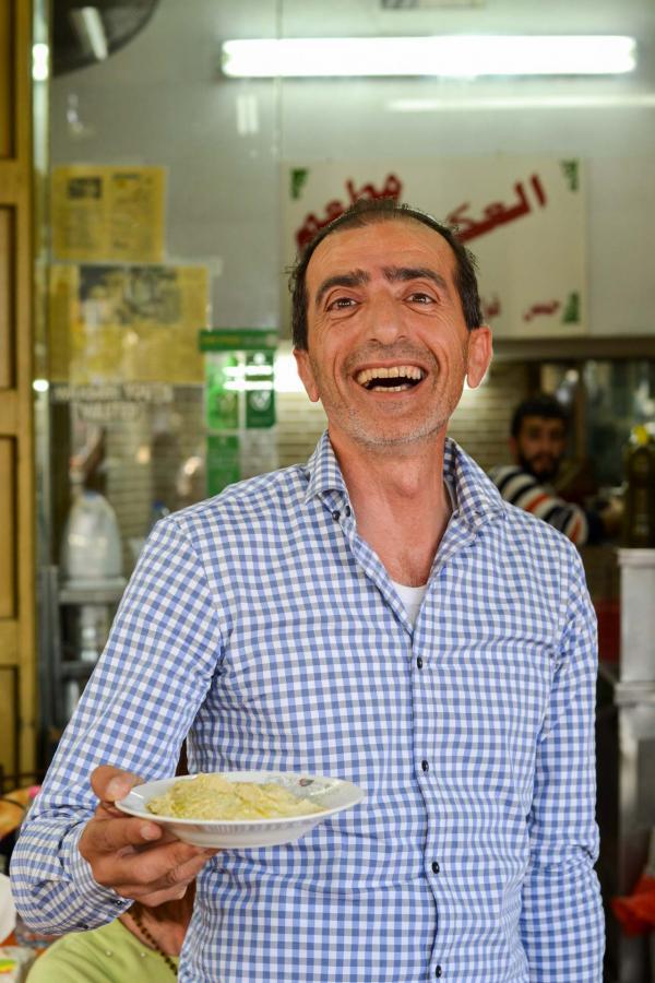 Mohamed, propriétaire d'Ikermawi © Mélissa Leroux
