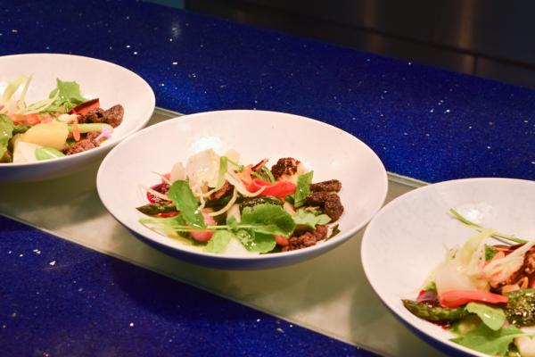 Salade de morilles et légumes : un plat végétarien de haute facture | © Yonder.fr