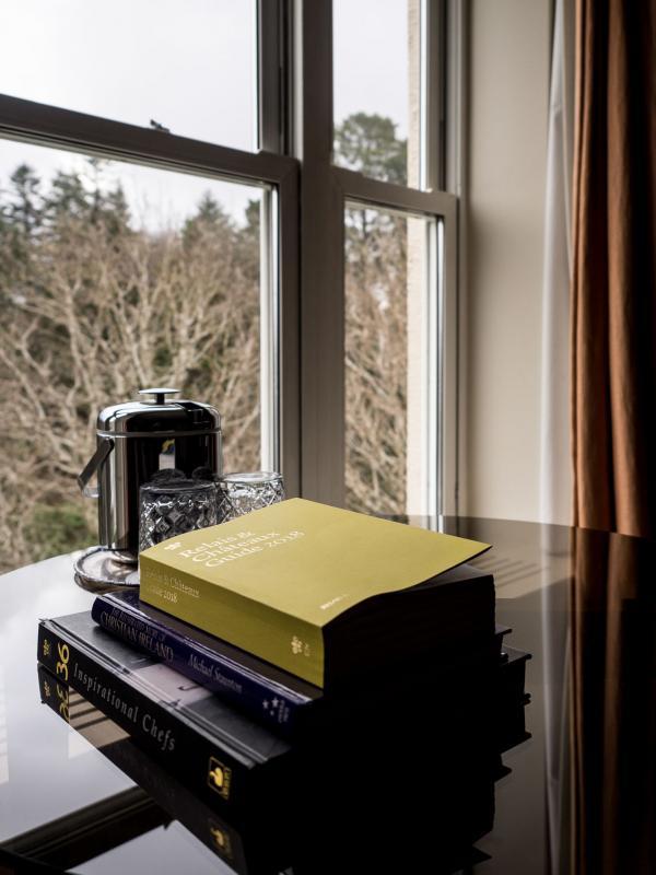 Le Sheen Falls Lodge, Relais & Châteaux d'exception, nous accueille dans un cadre poétique au cœur de la nature © Alix Laplanche