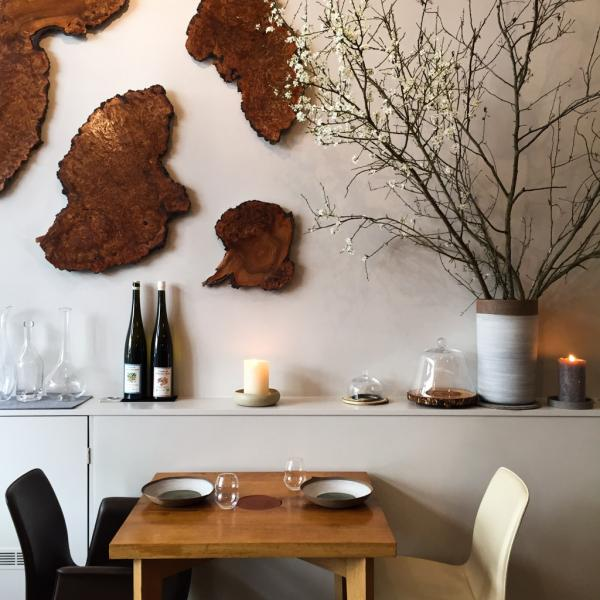 Design contemporain et chaleureux au restaurant © MB|YONDER.fr