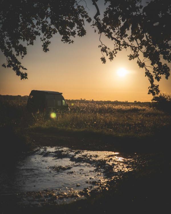 Nomadism — coucher de soleil © Nomadism