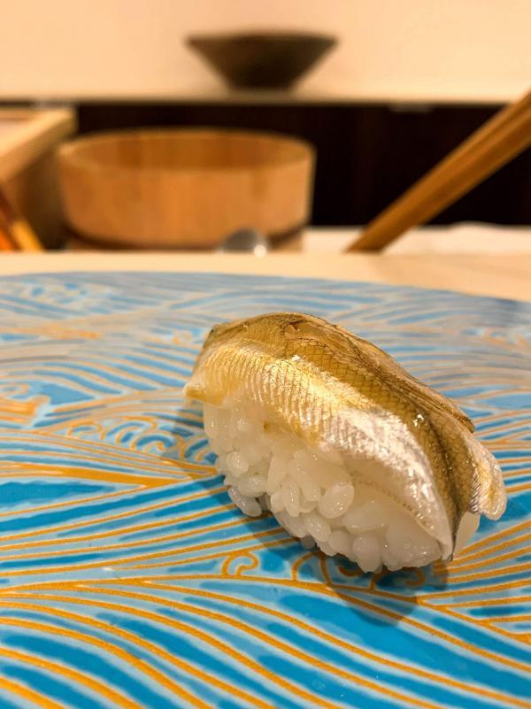 Les sushis de poissons d'eau douce. © Pierre Gunther