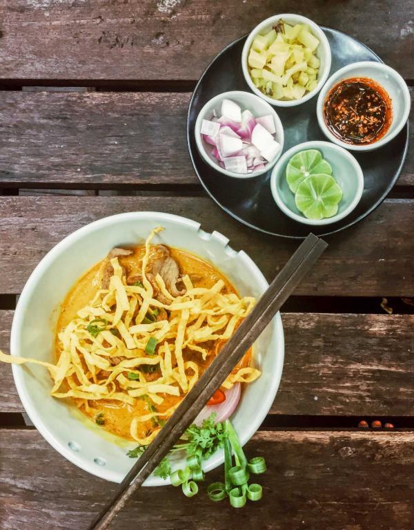 Khao Soi, la spécialité de Chiang Mai © Constance Lugger