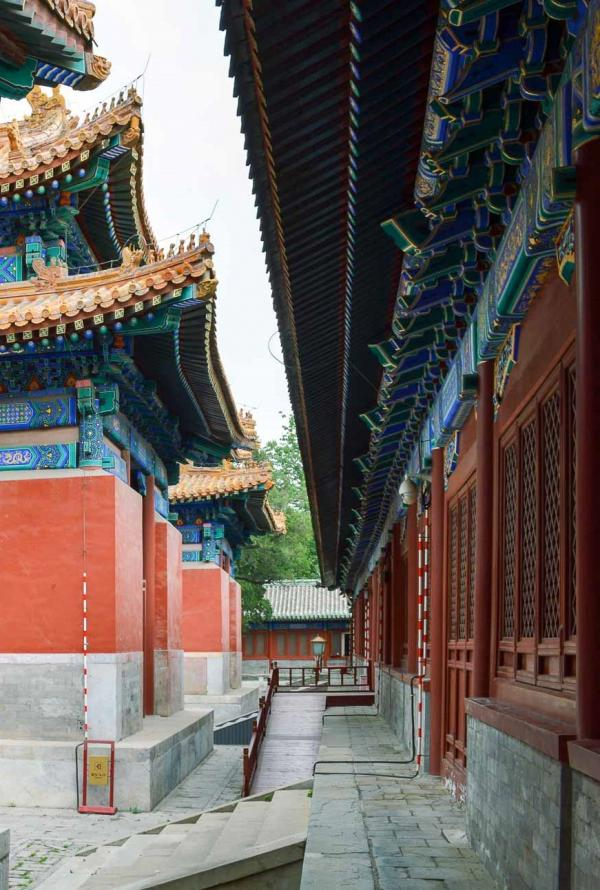 Le temple de Confucius si calme au petit matin. © Pierre Gunther / YONDER.fr
