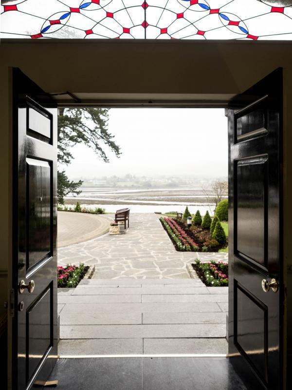 Sheen Falls Lodge, où la nature omniprésente vous accueille à bras ouverts © Alix Laplanche