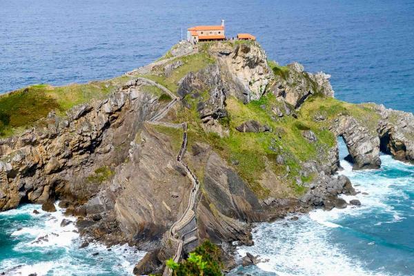 San Juan de Gaztelugatxe © Clémence Ludwig