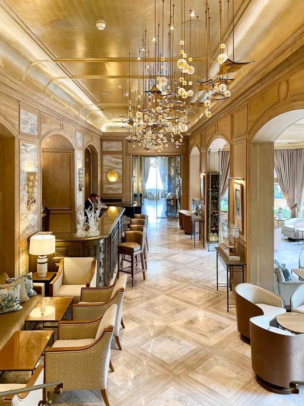 La Réserve de Beaulieu – Le lobby © EL / YONDER.fr