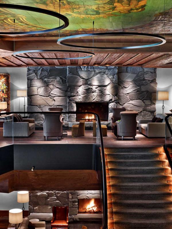 Alpina Lounge & Bar Stübli © The Alpina Gstaad