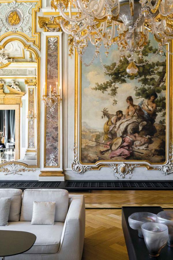 """Aman Venice, le """"piano nobile"""" (étage noble) du prestigieux palais Palazzo Papadopoli © Aman"""