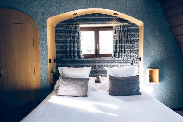 Les chambres-cocon sont l'endroit parfait où passer la nuit au chaud. © Bestjobers