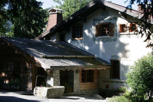 Le chalet Noémie abrite aujourd'hui cinq des suites du Chalet du Mont d'Arbois.  | ©  P. Schaff