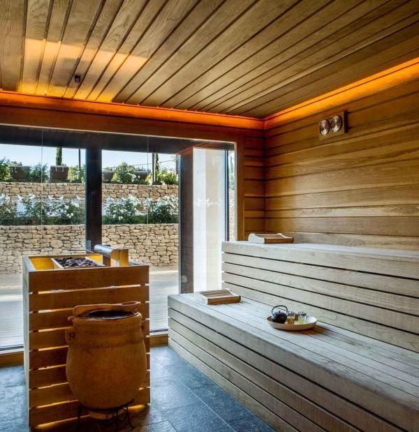 Coquillade Village — spa, sauna © DR