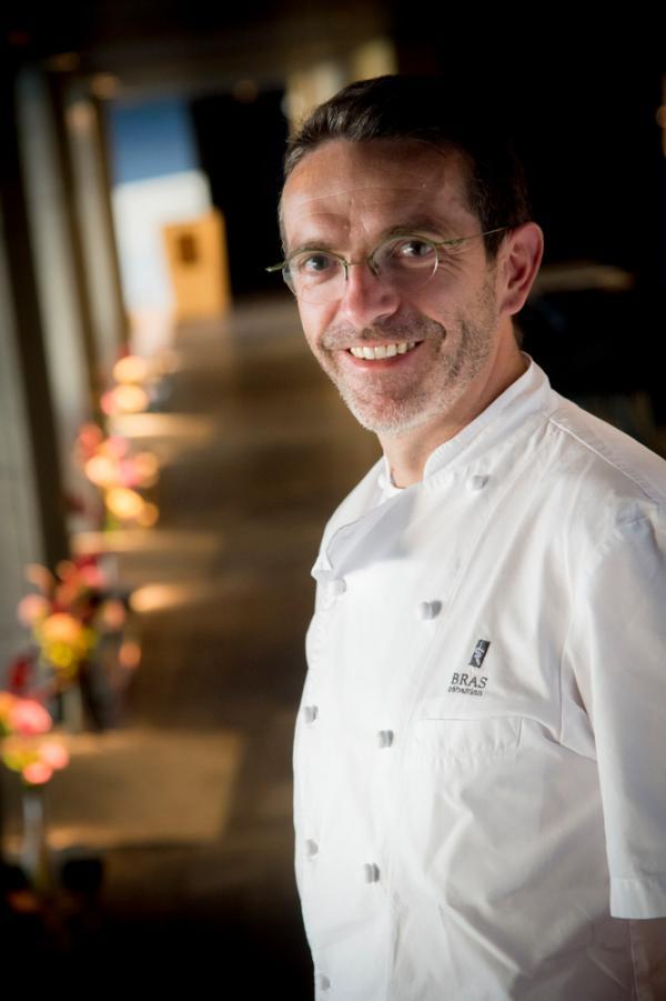 Le chef Sébastien Bras © C. Bousquet