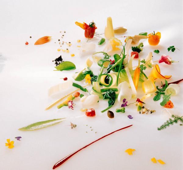 Le gargouillou au restaurant Bras © C. Palis et JP. Trébosc